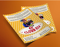 CLOWN RIA - Flyer Design