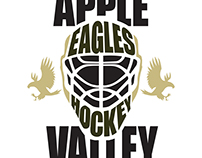Apple Valley Eagles Youth Hockey Ad Campaign