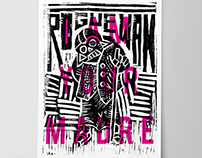 Rogue Wan - I Am Your Mother Linocut Print