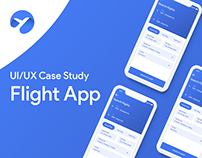 Fly Airline Flight Booking App UX Case Study