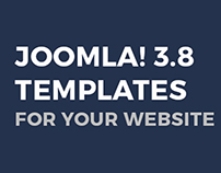 Joomla 3.8 templates for Your website