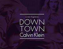 Calvin Klein   DOWN TOWN   a new fragrance