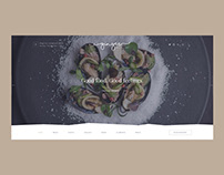 Ginger — Restaurant & Cafe Concept Website