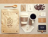 Daily Talks coffee AE Mockup