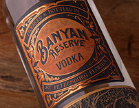 Banyan Reserve Vodka Illustrated by Steven Noble