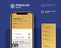 Premium Bank. Mobile banking app