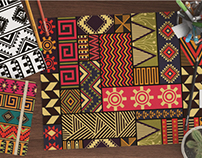 Ethnic pattern design