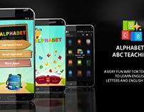 "Design new application "" ALPHABET : ABC TEACHING """