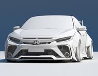 CGI Honda Civic