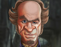 Count Olaf Digital Caricature