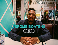 Jerome Boateng for Audi