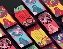 Memphis Style Business Cards Templates