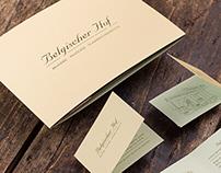 Belgischer Hof - Branding & Stationary
