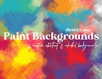 Free Abstract Paint Backgrounds