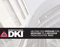 Print Design: Burke's Klein's DKI Tri-Fold Brochure