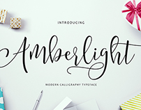 Amberlight - Modern Calligraphy Typeface