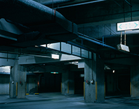Projection Mapping of a Carpark