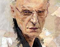 "Portraits - illustrations for ""Przekroj"" magazine"