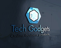 TechGadgets online business company logo design.