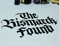 "Typography  - ""The Bismarck Found"""