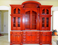 Reception Entry Cabinet
