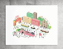 Overlooking Macau   Illustration