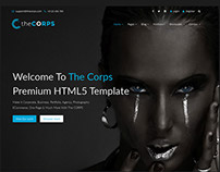 The Corps - Multi-Purpose HTML5 Template
