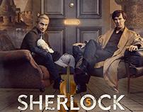 "Sherlock "" Poster """