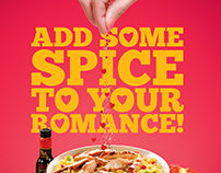 Galito's Valentine's Poster Options