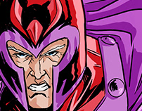 Magneto pin-up