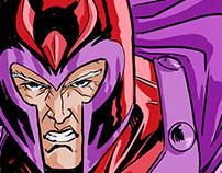 Magneto pin-up