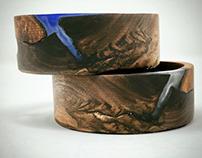 Wooden Alexa Dot Case