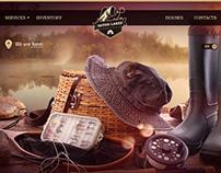 """Branding y diseño web para """"Seven Lakes"""""""