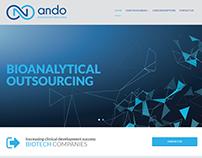 Κατασκευή ιστοσελίδας andobio.com