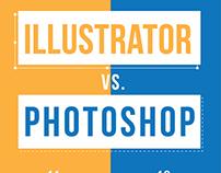 Illustrator vs. Photoshop