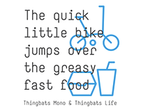 Thingbats Mono Typeface