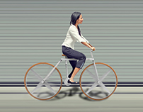 Fold, A neatly folded bicycle