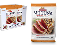 Jana Brands AHI Tuna Club Store Packaging