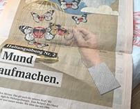EVA VASARI / Der Standard - Imagekampagne