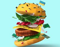 Tech burger