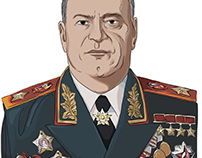 Georgy Zhukov. A great man with a great destiny (2K15)