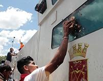 Resumen de protestas del mes de abril en Caracas.