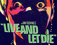 Live and Let Die James Bond Movie Poster