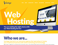 Redesigning Vantage Website 2015
