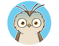 Crazy Owls stickers for iMessage