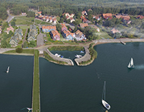 New apartments in Curonian Lagoon