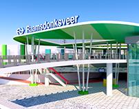 Railway Station Raamsdonksveer