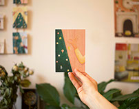 """""""Festivities"""" - Christmas Cards, Hands Collection"""