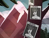 Twin Peaks stickers