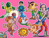 Character & mascot design